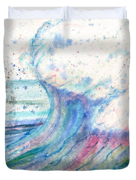 Summer Spray Duvet Cover