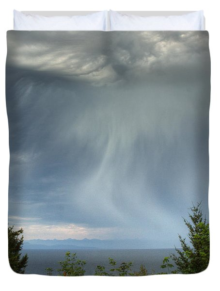 Summer Squall Duvet Cover