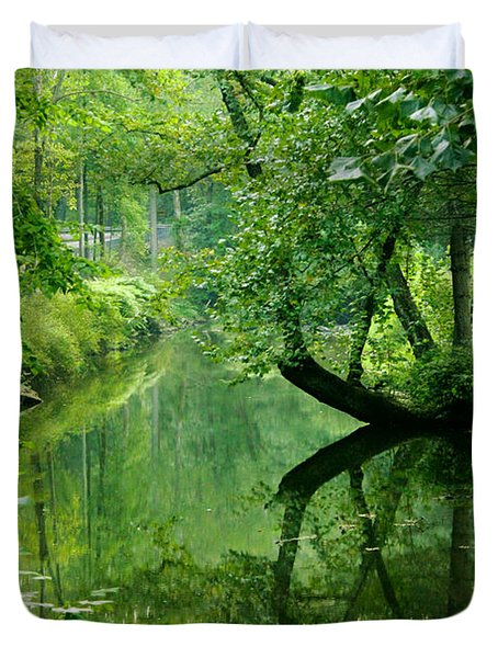 Summer Stream Duvet Cover