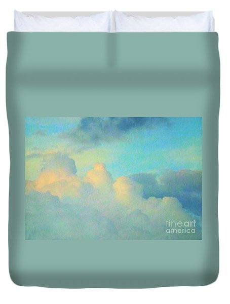 Summer Sunset Duvet Cover by Robyn King
