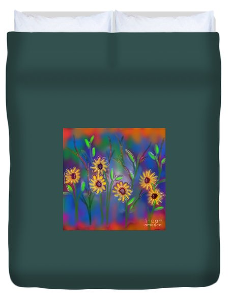 Summer Time Sadness Duvet Cover by Latha Gokuldas Panicker