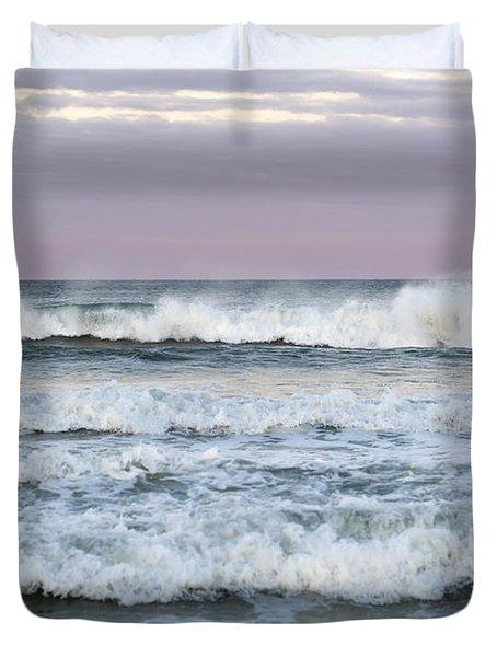 Summer Waves Seaside New Jersey Duvet Cover