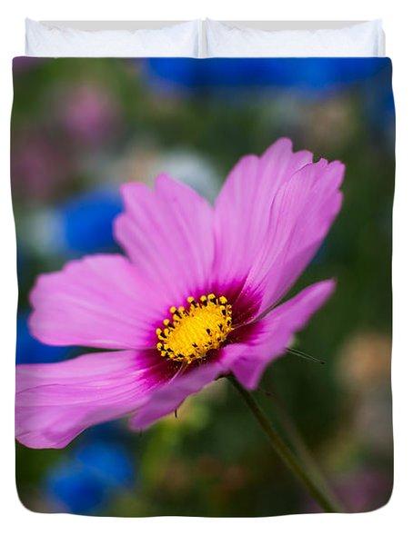 Duvet Cover featuring the photograph Summer Wild Blooms by Matt Malloy