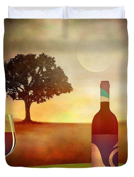 Summer Wine Duvet Cover by Bedros Awak