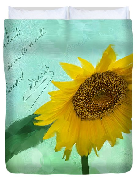 Summer's Beauty Duvet Cover