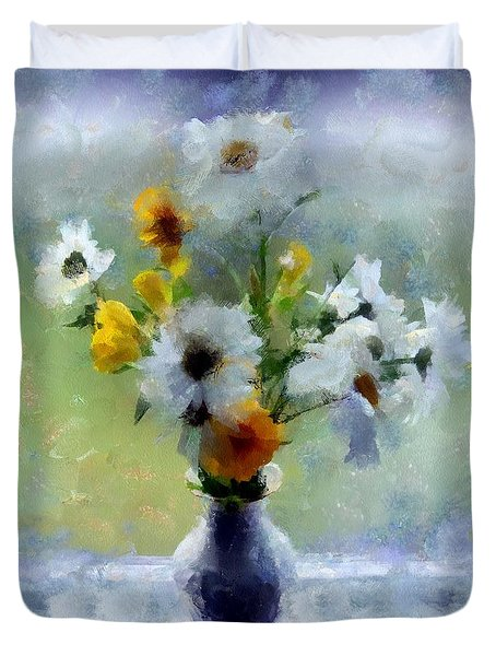 Summerstorm Still Life Duvet Cover by RC deWinter