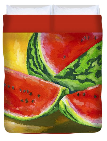 Summertime Delight Duvet Cover