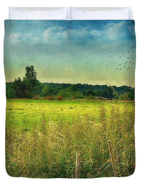 Summertime Duvet Cover by Jutta Maria Pusl