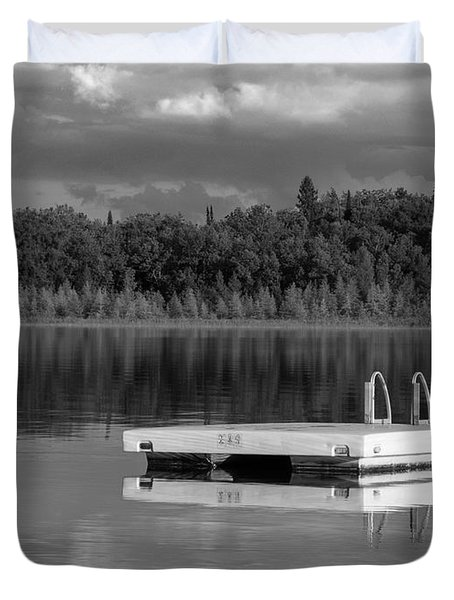 Summertime Reflections Duvet Cover by Don Spenner