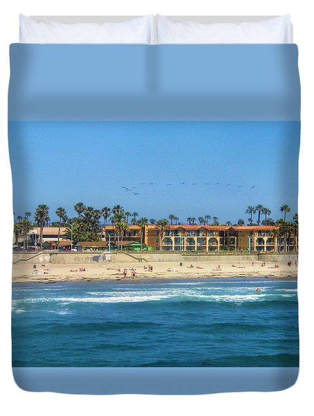 Summertime Duvet Cover by Tammy Espino