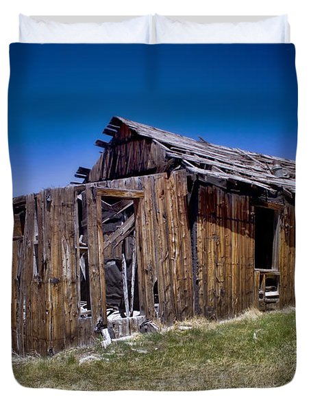 Summitville - Colorado Ghost Town Duvet Cover