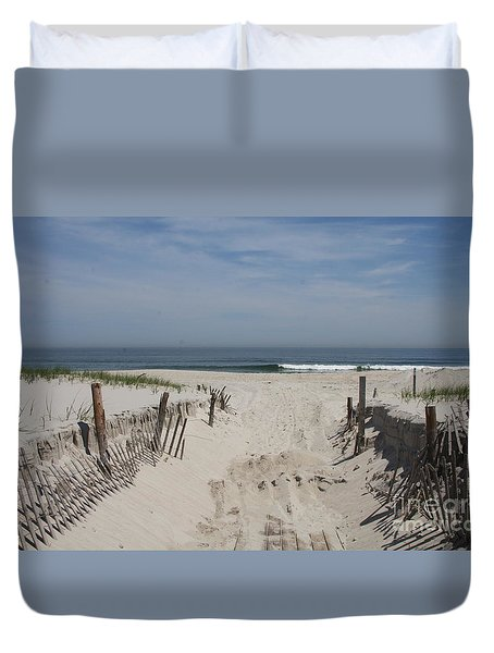 Sun And Sand Duvet Cover by Christiane Schulze Art And Photography