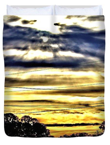 Sun Burst Duvet Cover
