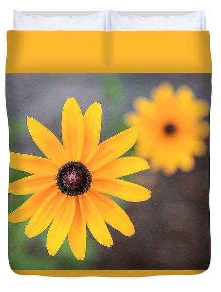 Sun Daisy Duvet Cover