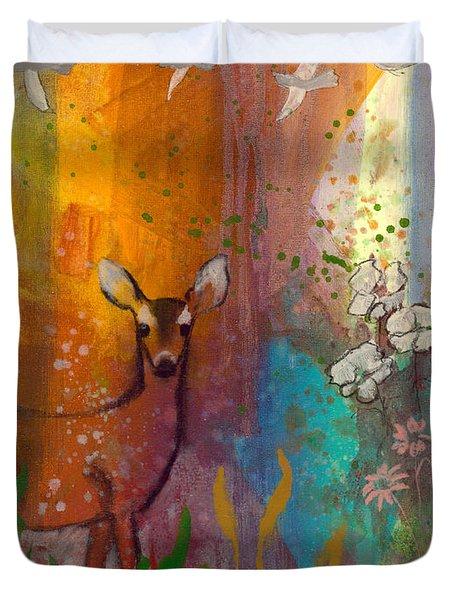 Sun Deer Duvet Cover