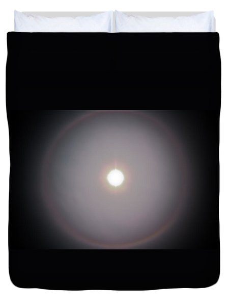 Sun Dog Duvet Cover by Joel Loftus