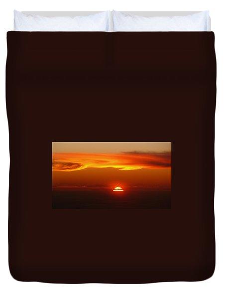 Sun Fire Duvet Cover