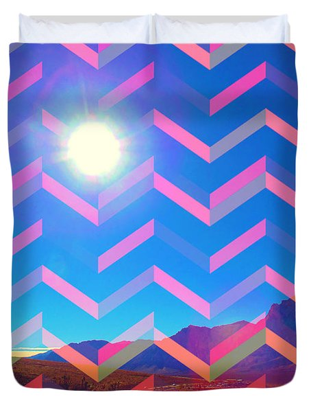 Sun God Duvet Cover