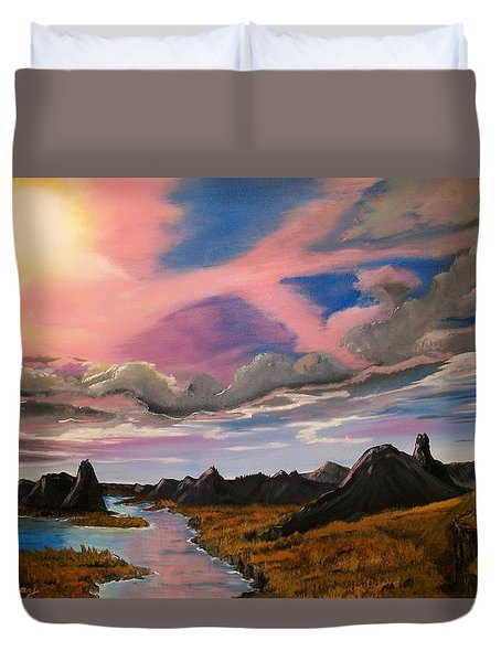 Arizona Sunrise  Duvet Cover