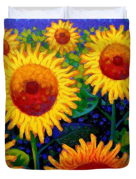 Sun Lovers II Duvet Cover