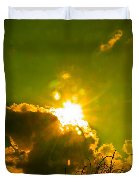 Sun Nest Duvet Cover by Nick Kirby