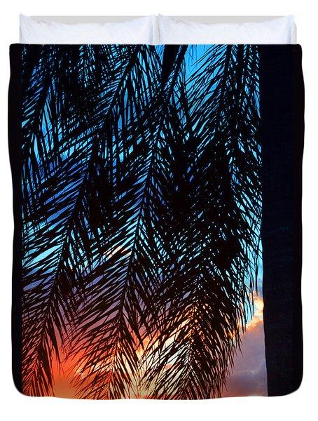 Sun Palm Duvet Cover