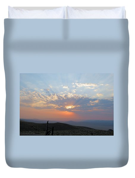 sun rays II Duvet Cover