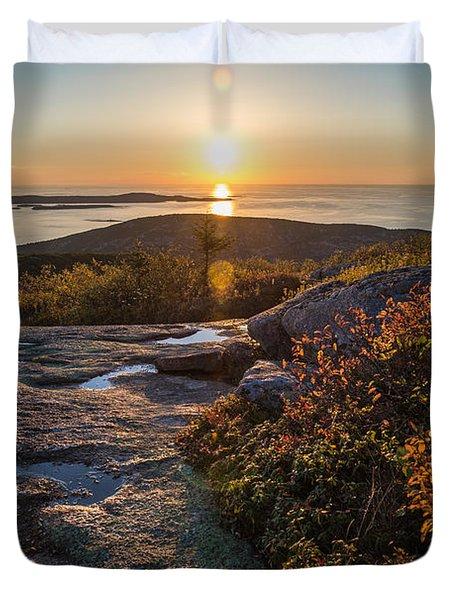 Sun Rise Shock Duvet Cover