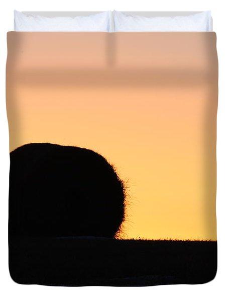 Sun Rise Silhouette Duvet Cover