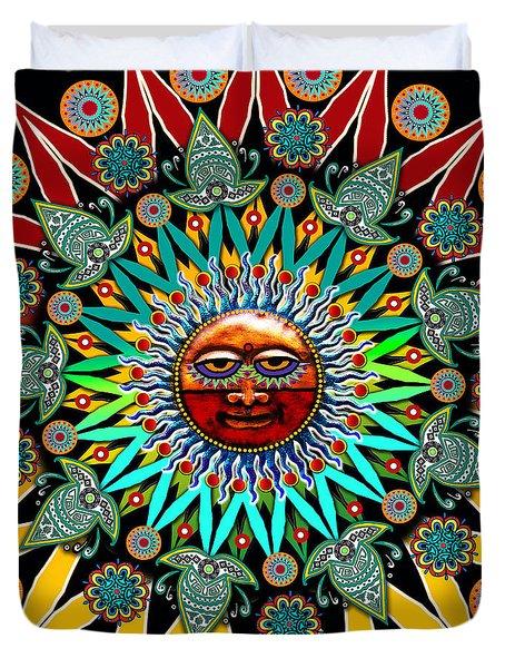 Sun Shaman Duvet Cover