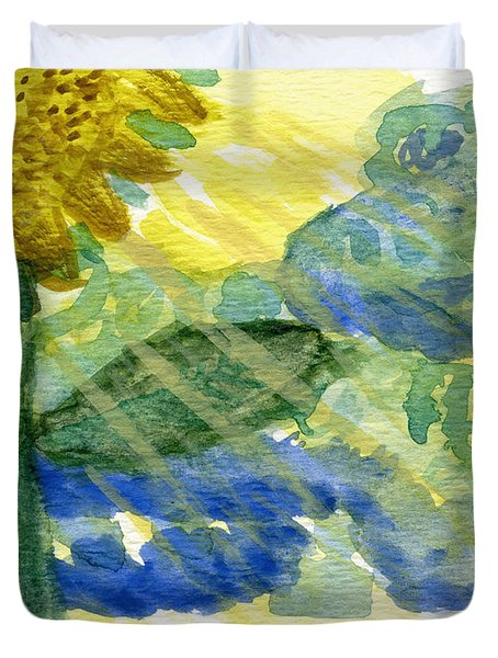 Sun Shines For All II Duvet Cover