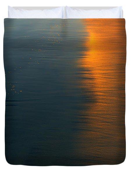 Sun Soaked Beach Duvet Cover by Heidi Smith