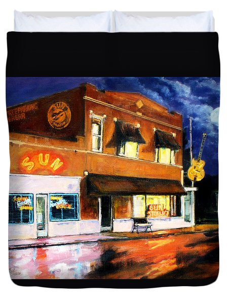 Sun Studio - Night Duvet Cover