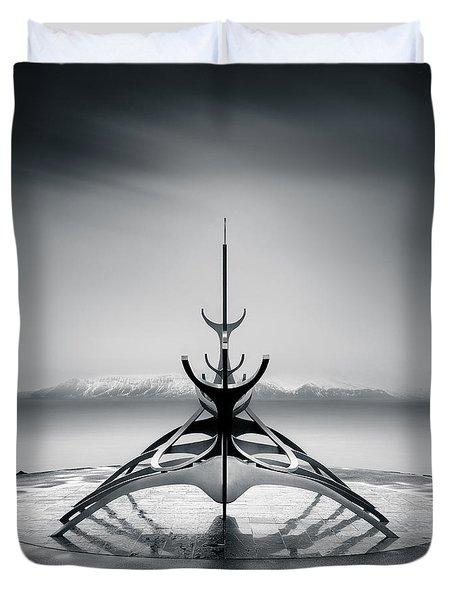 Sun Voyager Duvet Cover