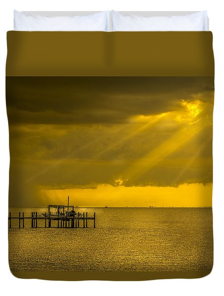 Sunbeams Of Hope Duvet Cover