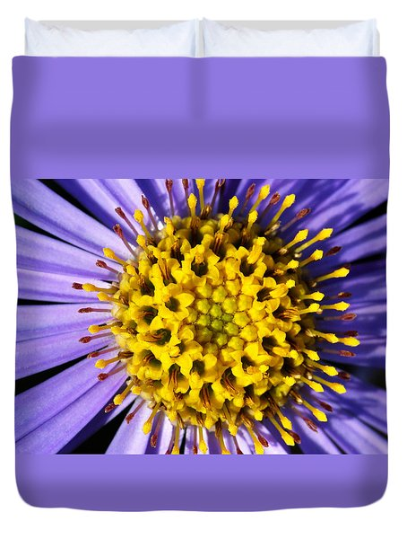 Duvet Cover featuring the photograph Sunburst by Wendy Wilton