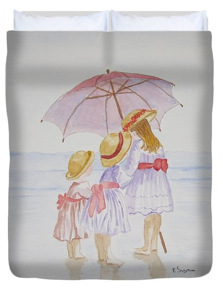 Sunday Best At The Beach Duvet Cover