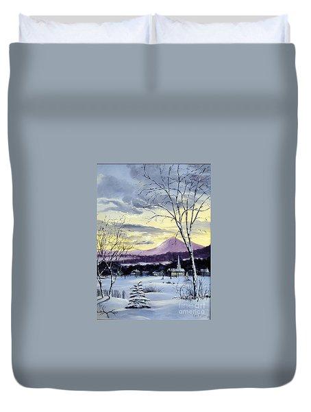 Sunday In Winter Duvet Cover