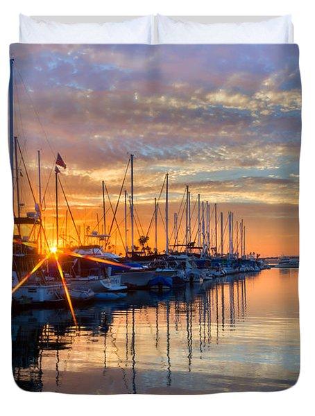 Sundown Duvet Cover by Heidi Smith