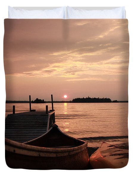 Sundowner Duvet Cover by Pat Purdy