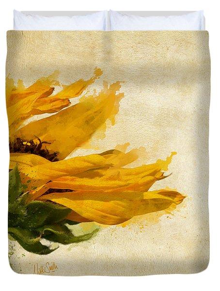 Sunflower Breezes Duvet Cover