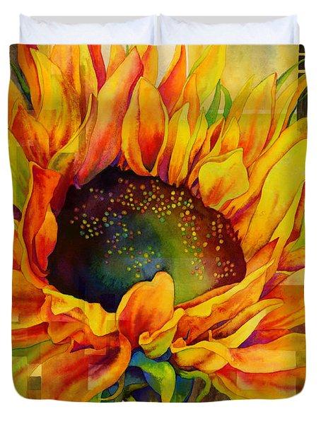 Sunflower Canopy Duvet Cover
