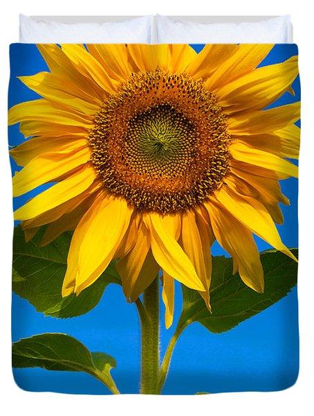 Sunflower Duvet Cover by Carsten Reisinger