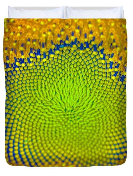 Sunflower Center Duvet Cover