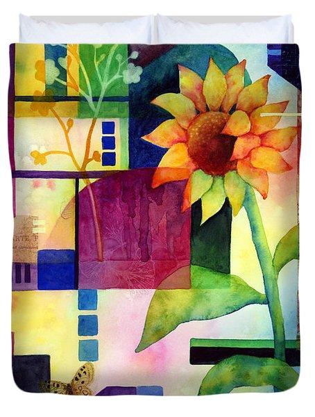 Sunflower Collage 2 Duvet Cover