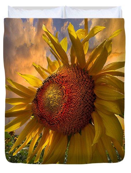 Sunflower Dawn Duvet Cover