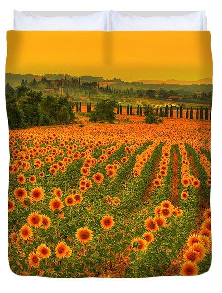 Sunflower Dream Duvet Cover