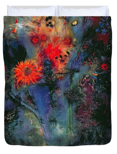 Sunflower Duvet Cover by Jane Deakin