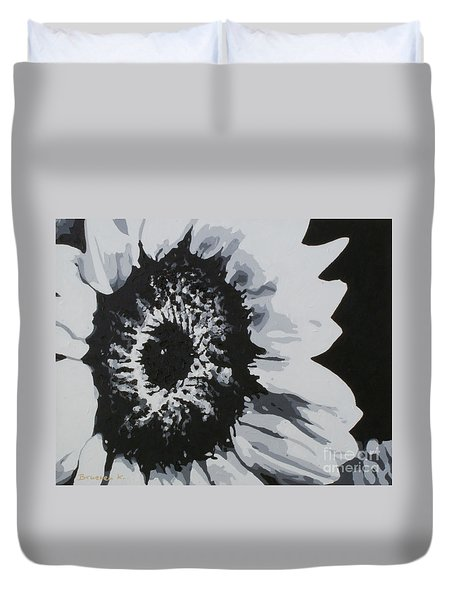 Sunflower Duvet Cover by Katharina Filus