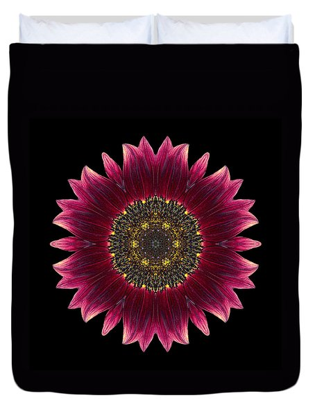Sunflower Moulin Rouge I Flower Mandala Duvet Cover